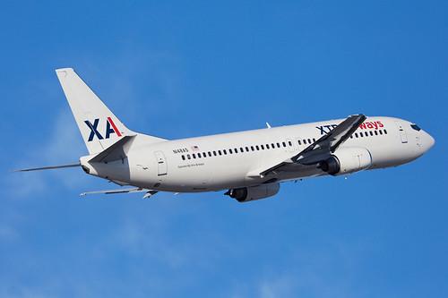 Xtra Airways · Boeing 737-484 · N148AS (cn 27149, ln 2471) · KCMH 01/13/2015