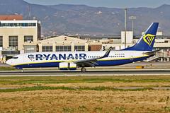 EI-FZN Boeing 737-800 Ryanair AGP 07-02-19