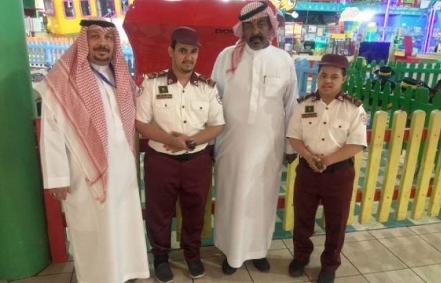 3555 First Shopping Mall in Saudi Arabia to hire disabled people in security jobs