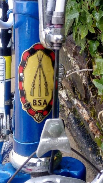 BSA head badge