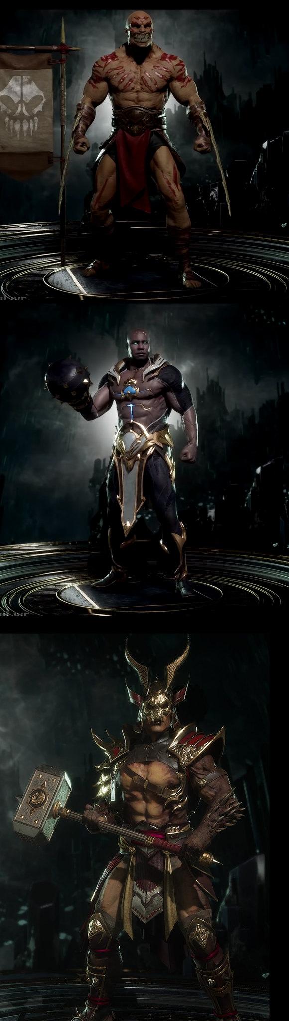 Mortal Kombat 11 - Buff Sexy Mannetjes
