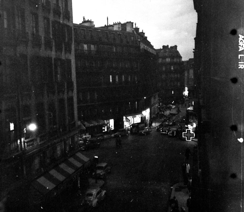 Перекресток улицы Одеон и бульвара Сен-Жермен