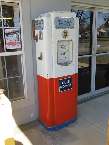 Gulf No-Nox Gas Pump Slocomb AL