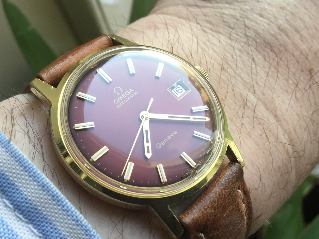 Omega calibre 1012 from 1973.