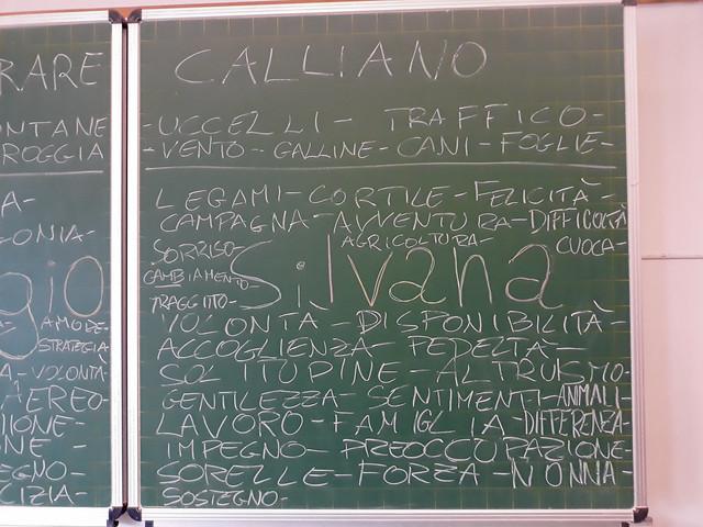 lavagna Narrare Calliano