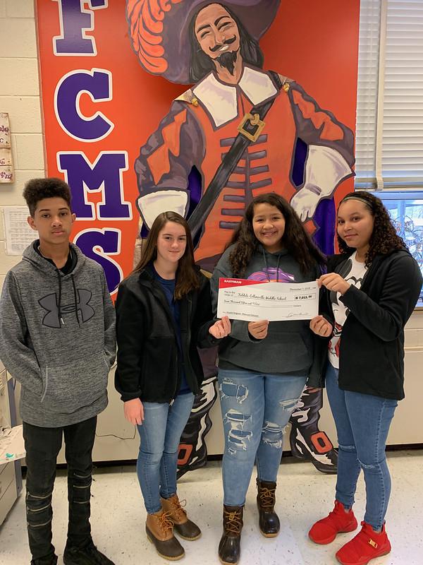 FC Middle School Bike Donation