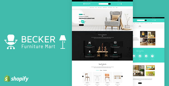 Becker v1.1 - Sectioned Furniture & Lights Shopify Theme