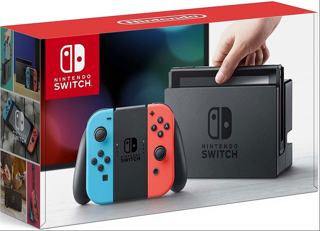 Spring Nintendo Switch Giveaway