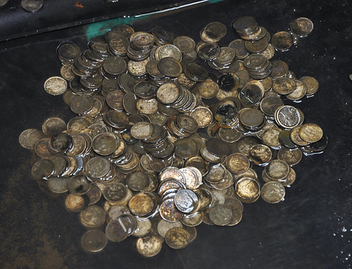 SS Central America Wet dimes