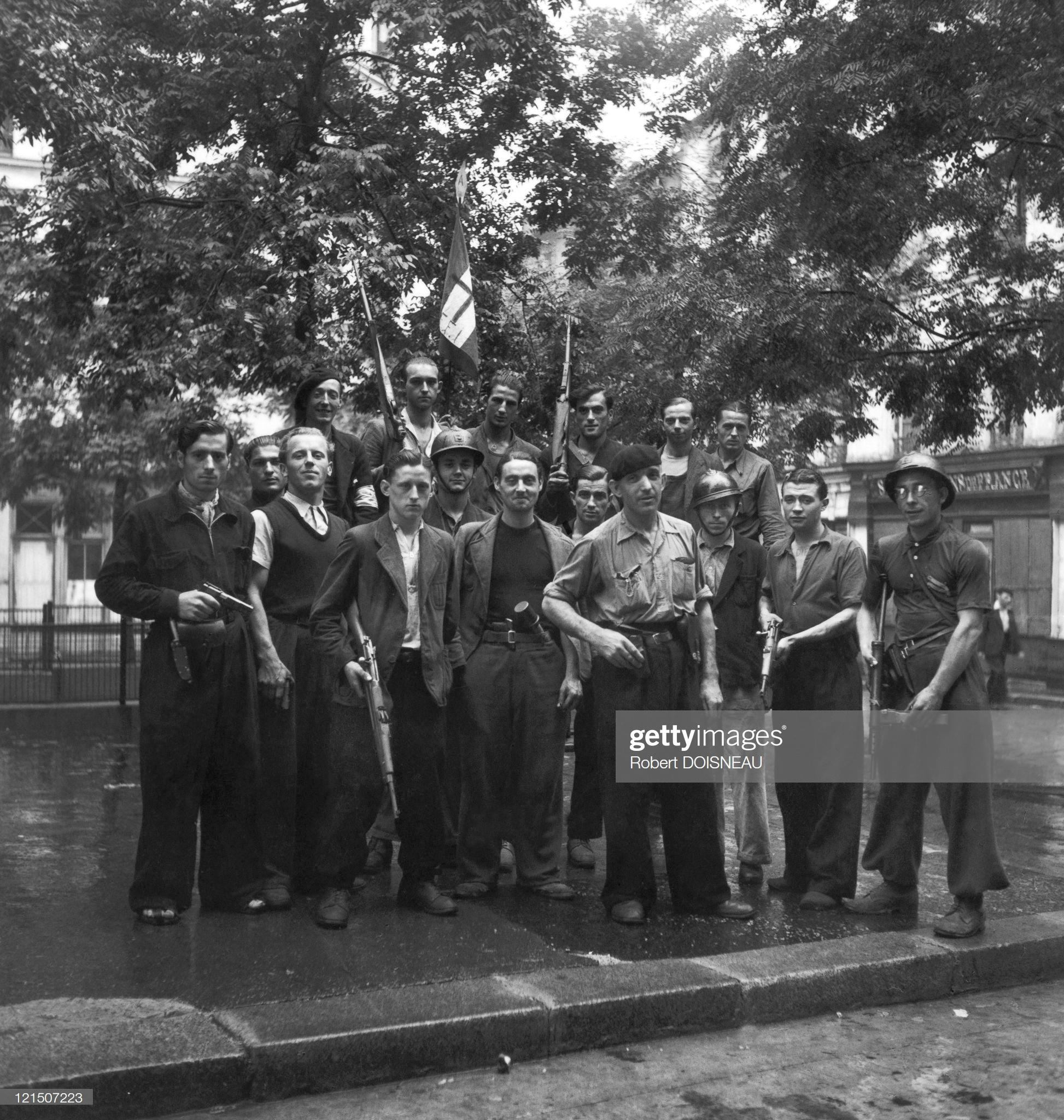 1944. Освобождение Парижа
