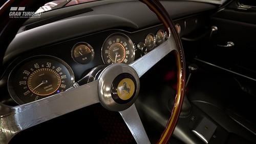 Ferrari 250 GT Berlinetta passo corto Cockpit
