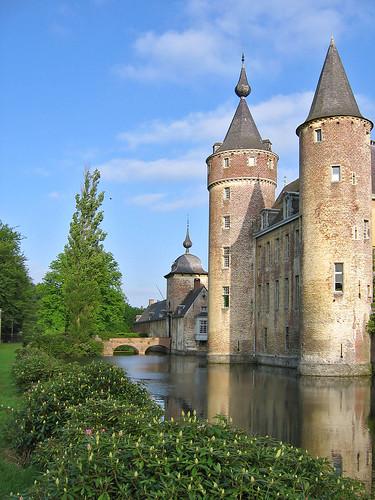 Gravenwezel Castle, locally known as Kasteel 's-Gravenwezel, NE of Antwerp, Belgium