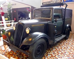 Citroën 7U 1936 with gaz generator used during WW2