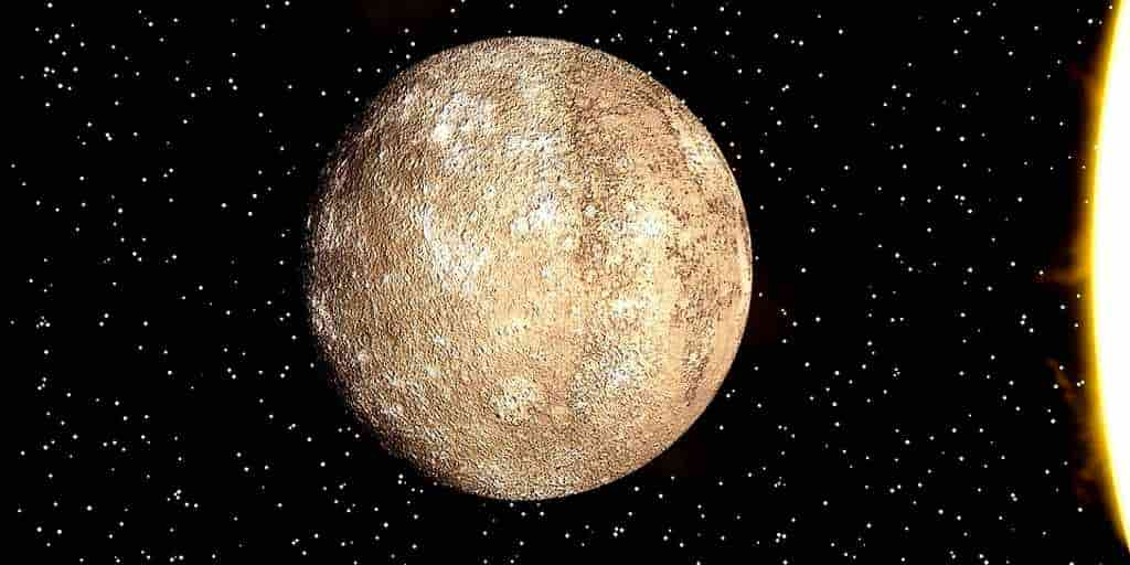 Les scientifiques modélisent les glaciers de Mercure