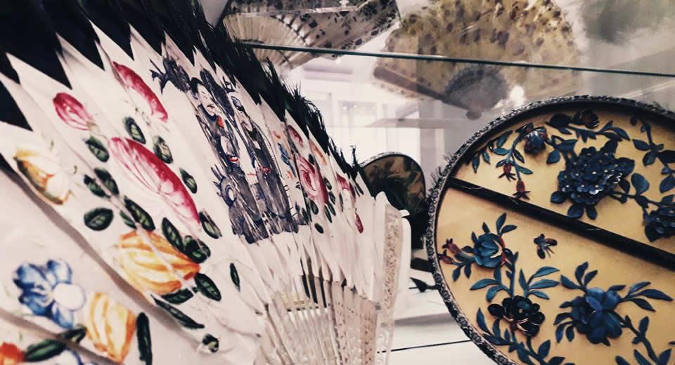 10 kleine musea in Londen: Fan Museum Londen (foto met dank aan het Fan Museum) | Mooistestedentrips.nl
