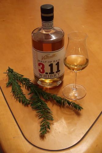 Malt of Kail 3.11 = Whisky der Brennerei Hubertus Vallendar