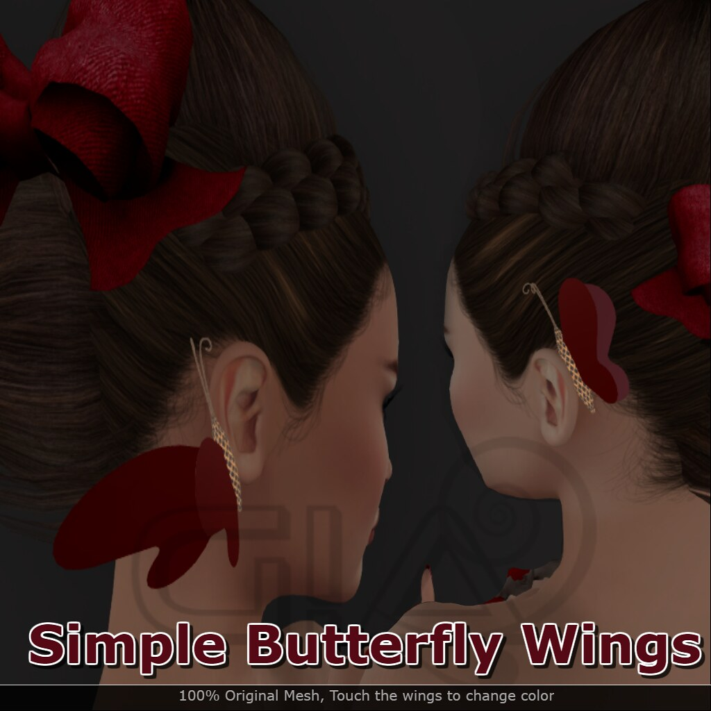 Butterfly wings vendor