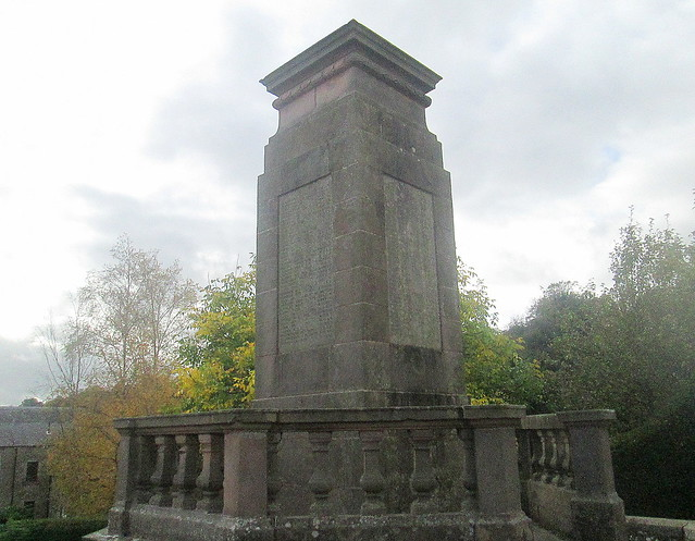 Jedburgh War Memorial Close View