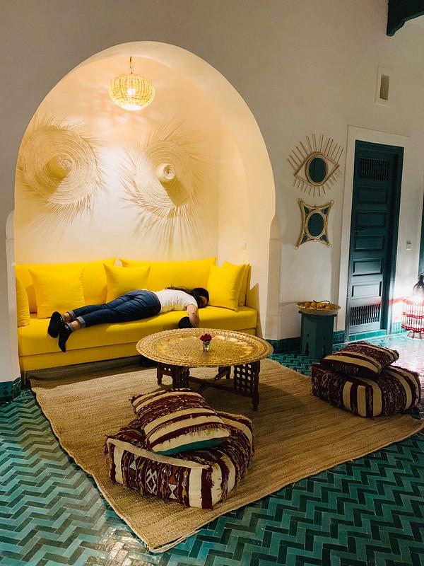 Il nostro salotto a Fès