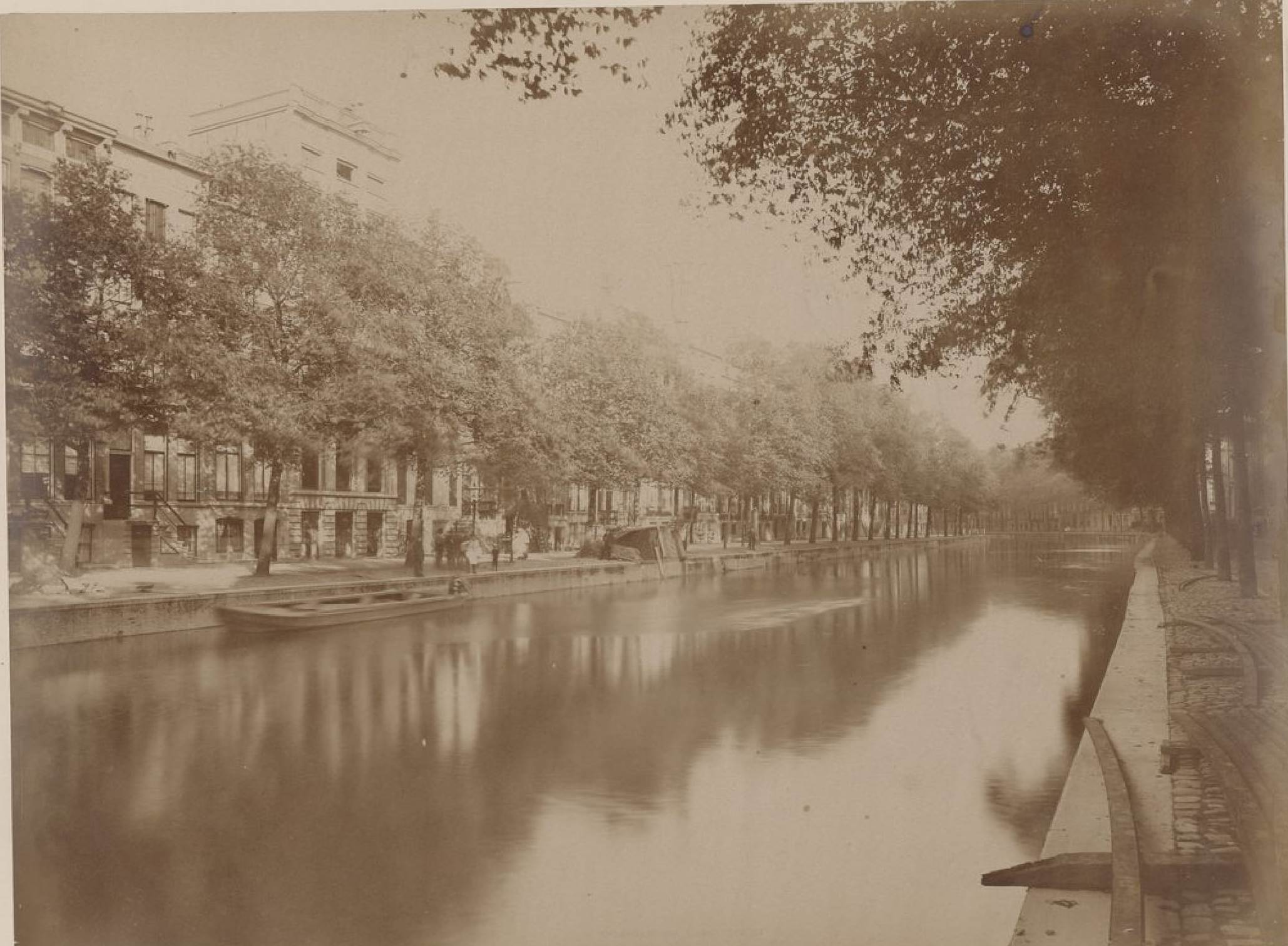 Амстердам. Канал Херенграхт, 15 мая 1888 года