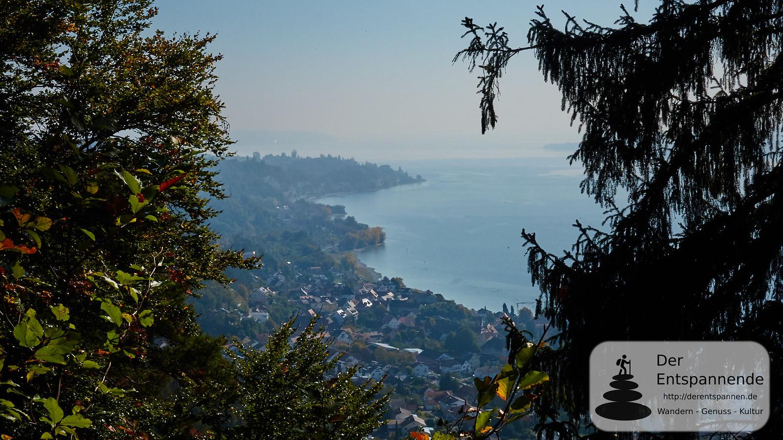 Blick auf Sipplingen und Bodensee