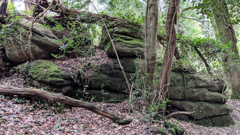 Hawkmoor Rocks main lower section