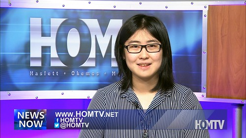 HOMTV Airs Bilingual Newscast Translated in Mandarin