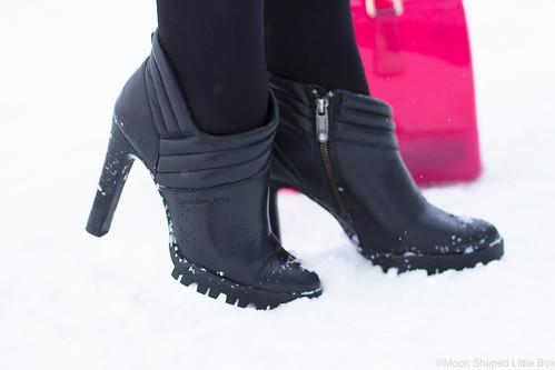 Calvin Kleinin kengät, nahkanilkkurit, talvikengät Calvin Klein