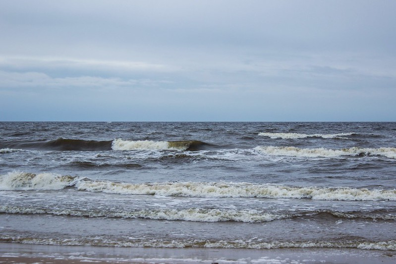 Рижский залив Балтийское море
