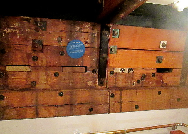 Salt Boxes, RRS Discovery, Dundee