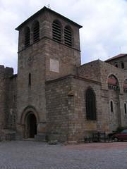20080515 23376 0905 Jakobus Champdieu Kirche Sonnenuhr Turm
