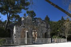 Nîmes, Temple de Diane (Jardins De La Fontaine)
