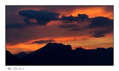 Le massif du Dévoluy en ombres chinoises - Photo of La Bâtie-Neuve