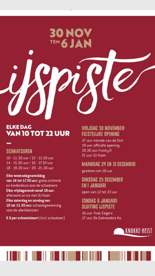 Afsluiting ijspiste met optredens van Yves Segers & De Gebroeders Ko (Verweeplein, Knokke) 06/01/2019