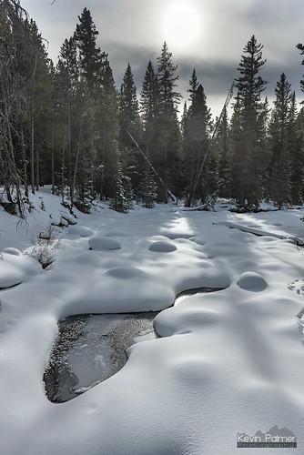 Snow on Tensleep Creek