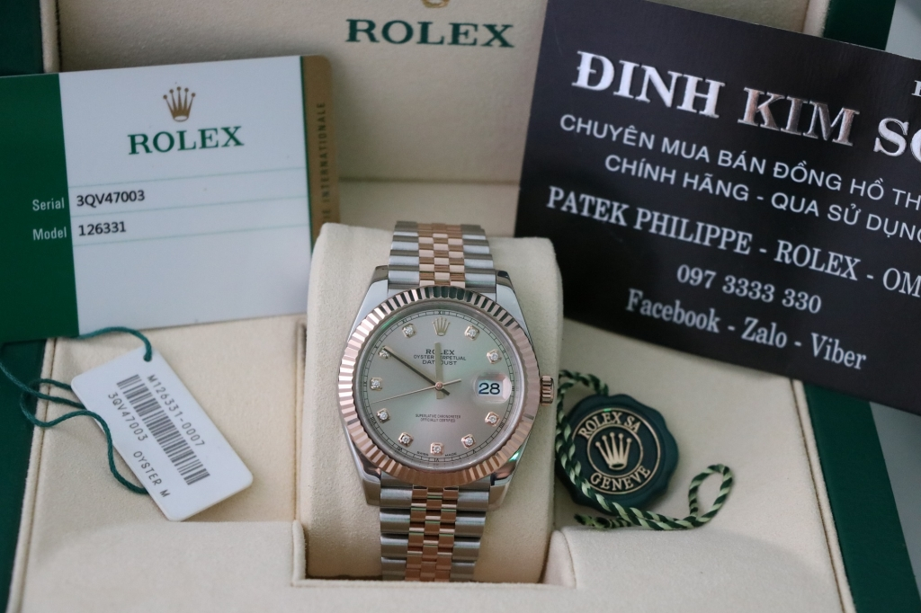 chuyên thu mua đồng hồ rolex qua sử dụng