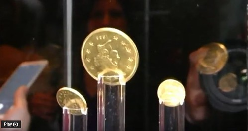 Hungarian National Museum Wass, Molitor Exhibit coins