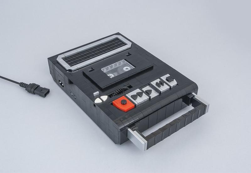 LEGO Tape Recorder