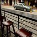 Seats at the Yarita Bakery por David J. Greer