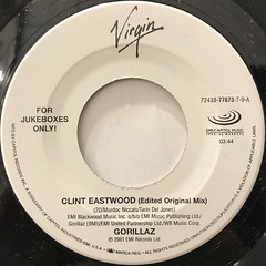 GORILLAZ:CLINT EASTWOOD(LABEL SIDE-A)