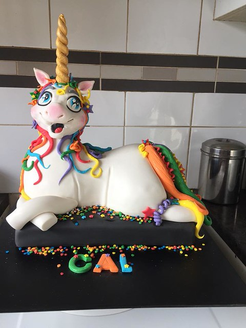 Unicorn Cake from Leanne Paddison of Cakes By Leo