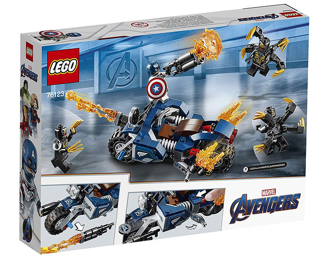 這真的超爆雷啊!!! LEGO 76123、76125、76131《復仇者聯盟:終局之戰》Avengers: Endgame 更多盒組公開~
