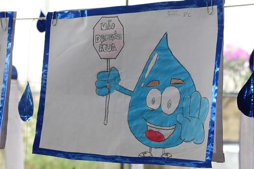Hoje comemoramos o Dia Mundial da Água