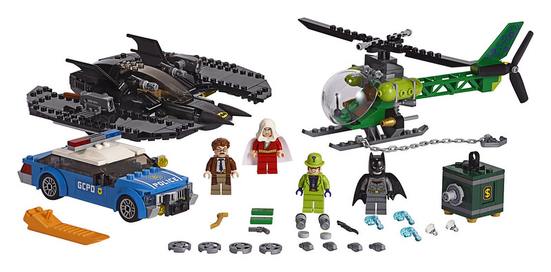 Batwing and The Riddler Heist (76120)
