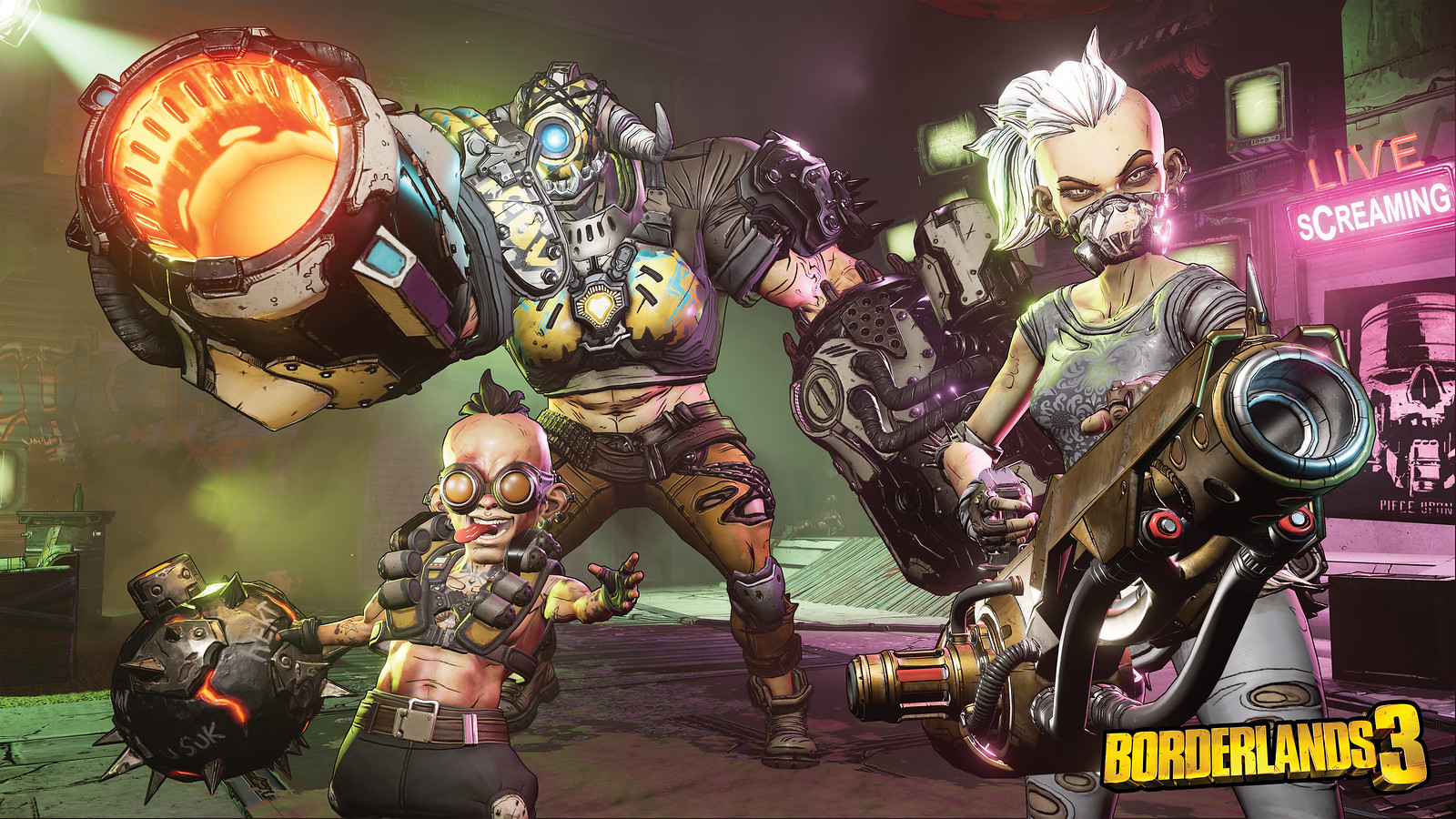 Borderlands 3 Launches 13th September On Ps4 See It In Action