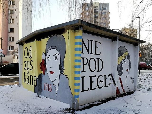 Maciej Szczurek-Maksymiuk, Odzyskana Niepodległa Wyzwolona