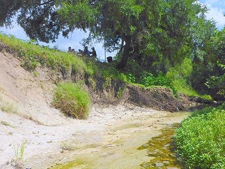 Tannehill Branch Creek at Givens Park Erosion Repairs