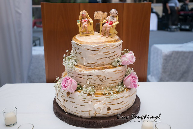 Wedding Cake by Jennifer Grossman of Irresistibly Delicious