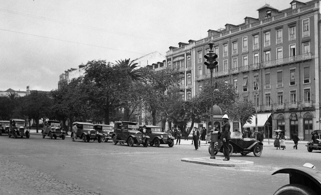 Semáforos, Lisboa (F. da Cunha, 1930)