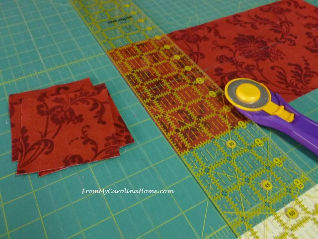 Cutting and Sewing at FromMyCarolinaHome.com